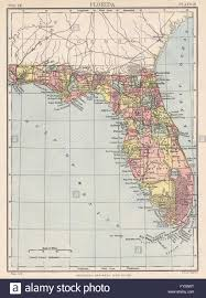 Florida Towns Map Florida State Map Shows Miami Incorporated 1896 2 Yrs Before