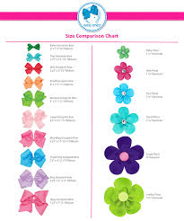 different types of hair bows vendor spotlight top notch templates by no bow no go craft