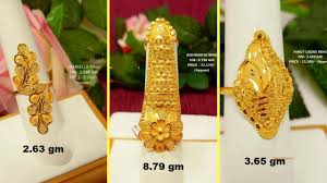 long rings design images Designer gold rings long finger ring design with weight and jpg