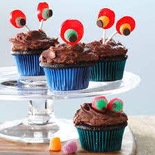 Halloween Chocolate Cake Recipe Devil U0027s Food Cupcakes With Chocolaty Frosting Recipe Taste Of Home