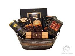 gourmet coffee gift baskets gourmet gift basket flowers and blossoms
