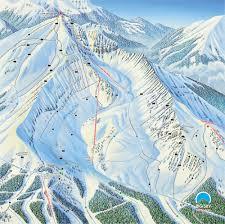 Big Sky Montana Map by Big Sky Skiing U0026 Snowboarding Resort Guide Evo