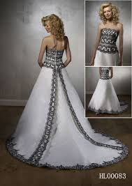black and white wedding dresses black and white wedding dress