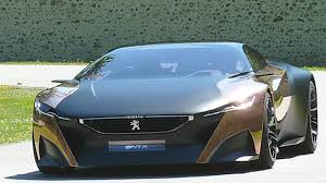 peugeot vehicles peugeot onyx concept car gorgeous youtube