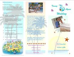 Destination Wedding Itinerary What Do I Include In My Destination Wedding Invitation Packet
