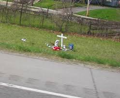 roadside crosses historymike on the phenomena of roadside crosses highway