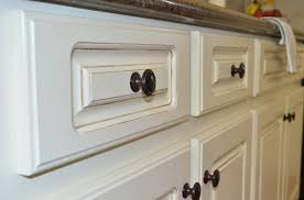 How To Antique Glaze Kitchen Cabinets Painted Kitchen Cabinets At Home With The Barkers