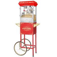 popcorn machine rentals popcorn machine with cart 8 oz lakewood ranch party rentals