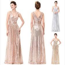 silver bridesmaid dresses v neck sequin sparkly a line black silver bridesmaid