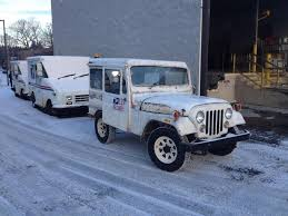 postal jeep lifted curbside classic 1982 jeep dj 5 dispatcher u2013still delivering the