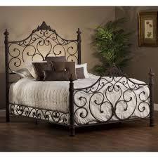 bedroom wonderful wrought rod iron headboard bed frames ideas in