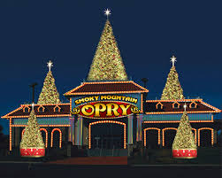 christmas light show pigeon forge tn smoky mountain opry theater to present christmas at the opry