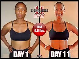 weight loss 11 day b challenge body transform program