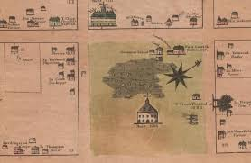 Paper Town Map Putting History On The Map Connecticut Public Radio
