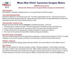 Army Resume Sample by Documents Mass Bay Girls Lacrosse League