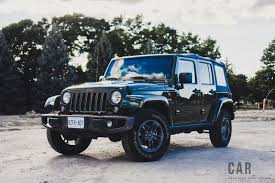 beach cruiser jeep review 2016 jeep wrangler 75th anniversary canadian auto review
