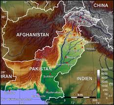 Geographical Map Of China by Atlas Of Pakistan Wikimedia Commons