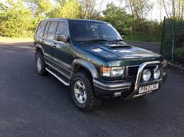 p reg isuzu trooper 3 1 td citation 4x4 5dr great history new