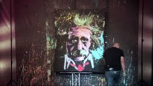 upside down speed painter entertainer youtube