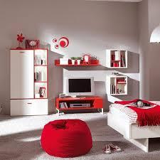 wohnwand jugendzimmer wohnwand weiß rot alle ihre heimat design inspiration