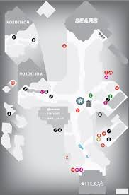 utc mall map map for westfield utc shopping centre map san diego ca 92122 1212