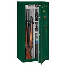stack on 22 gun steel security cabinet stack on stack on ss series 22 gun safe w combination lock hunter