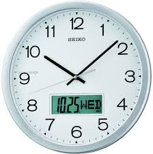 Wall Watch by Seiko Clocks Wall Clock Qxl007s Watch Shop Com