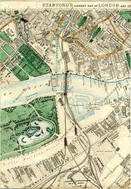 Chelsea Map Stanford U0027s Library Map Of London And Its Suburbs 1872