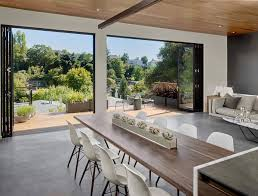 Kitchen Island Extension by Midcentury With A Modern Zest Dashing Oakland Residence In