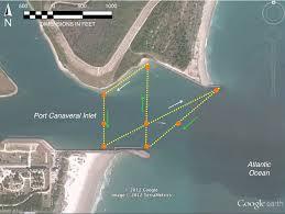 Port Canaveral Map Indian River Lagoon Experiments Irlex 2012 Florida Tech Ecurrent