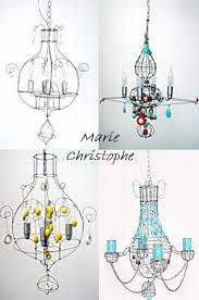 marie christophe lustre chaine the art of wire pinterest