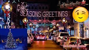 Rochester Michigan Christmas Lights by Birmingham Christmas Lights Youtube