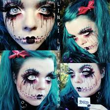 Halloween Makeup Stitches