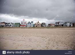 victorian houses along beach drive in cape may new jersey before