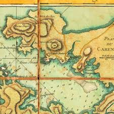 World Map Caribbean by Map Of St Lucia 1779 Sainte Lucie Le Rouge Battlemaps Us