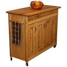 20 catskill craftsmen kitchen island butcher s block cart