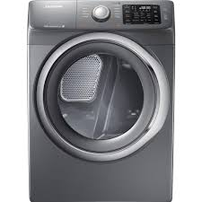 New Clothes Dryers For Sale Samsung 7 5 Cu Ft Electric Dryer With Steam In Platinum