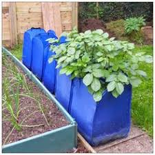 Patio Potato Planters 9 Gal Chocolate Brown Fabric Potato Planter Bag Products