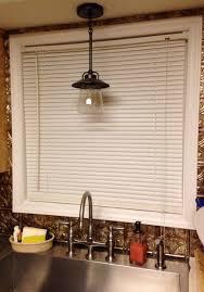 kitchen lighting pendant light over sink bowl oil rubbed bronze