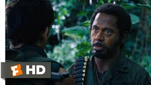 You Never Go Full Retard Meme - tropic thunder 5 10 movie clip never go full retard 2008 hd