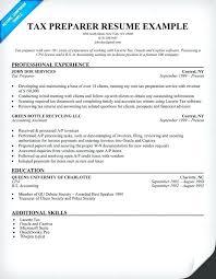exles of outstanding resumes tax preparer resume tax preparer resume tax resume sle sle