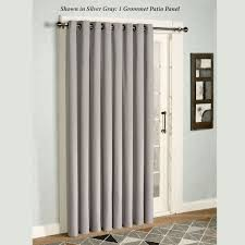 Curtains For Sliding Patio Doors Enchanting Sliding Patio Door Panel Curtains Photos Best