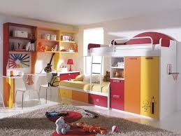 Wall Mounted Bedroom Storage Unit Furniture Colorful Kids Bedroom Design With Adorable Kids Storage