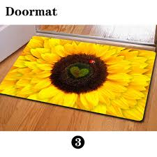 Floor Mats For Kitchen Sunflower Kitchen Mat Promotion Shop For Promotional Sunflower