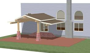 brilliant simple covered patio ideas screened e intended design in