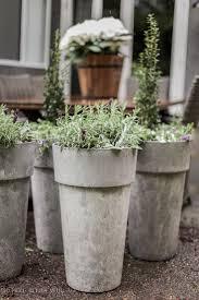 cool outdoor planters garden ideas