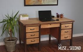 bureau massif moderne bureau bois massif moderne dingdian concernant bureau bois massif