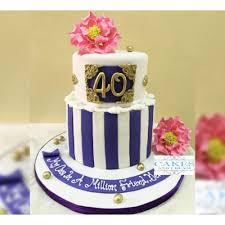 fabulous 40th birthday cake