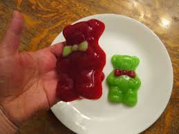 almost unschoolers homemade christmas gummy bears
