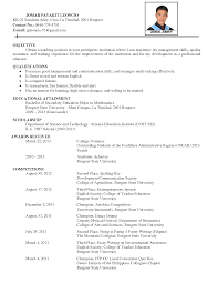 resume example objectives resume examples cool 10 best ever design decorations detailed resume examples objectives interest language comprehensive resume template additional skills achievements associations technical skills training